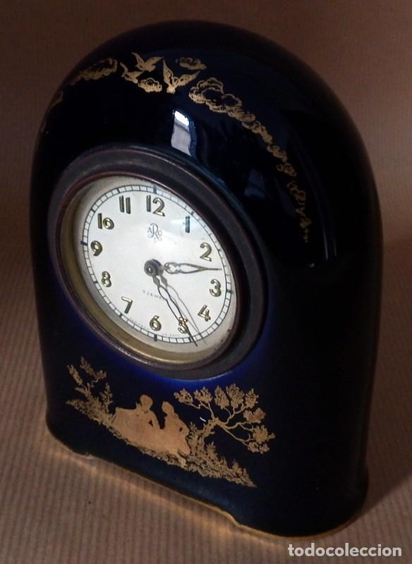 Relojes de carga manual: ANTIGUO RELOJ EN PORCELANA ROSENTHAL - Foto 5 - 70569489