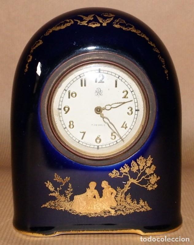 Relojes de carga manual: ANTIGUO RELOJ EN PORCELANA ROSENTHAL - Foto 6 - 70569489