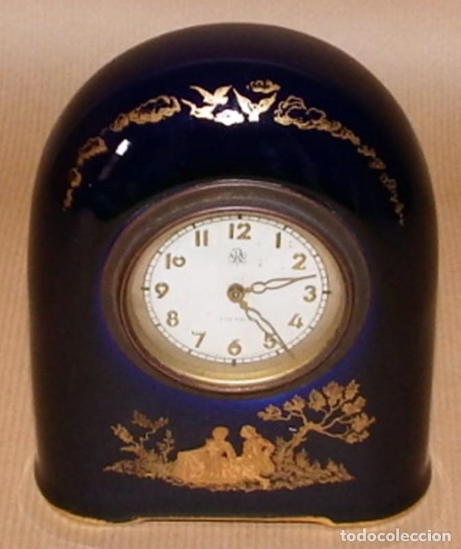 Relojes de carga manual: ANTIGUO RELOJ EN PORCELANA ROSENTHAL - Foto 9 - 70569489