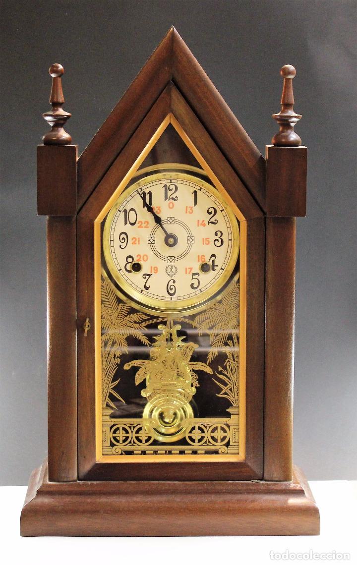 Reloj antiguo sobremesa reguladora anos 80 func comprar - Relojes de sobremesa antiguos ...