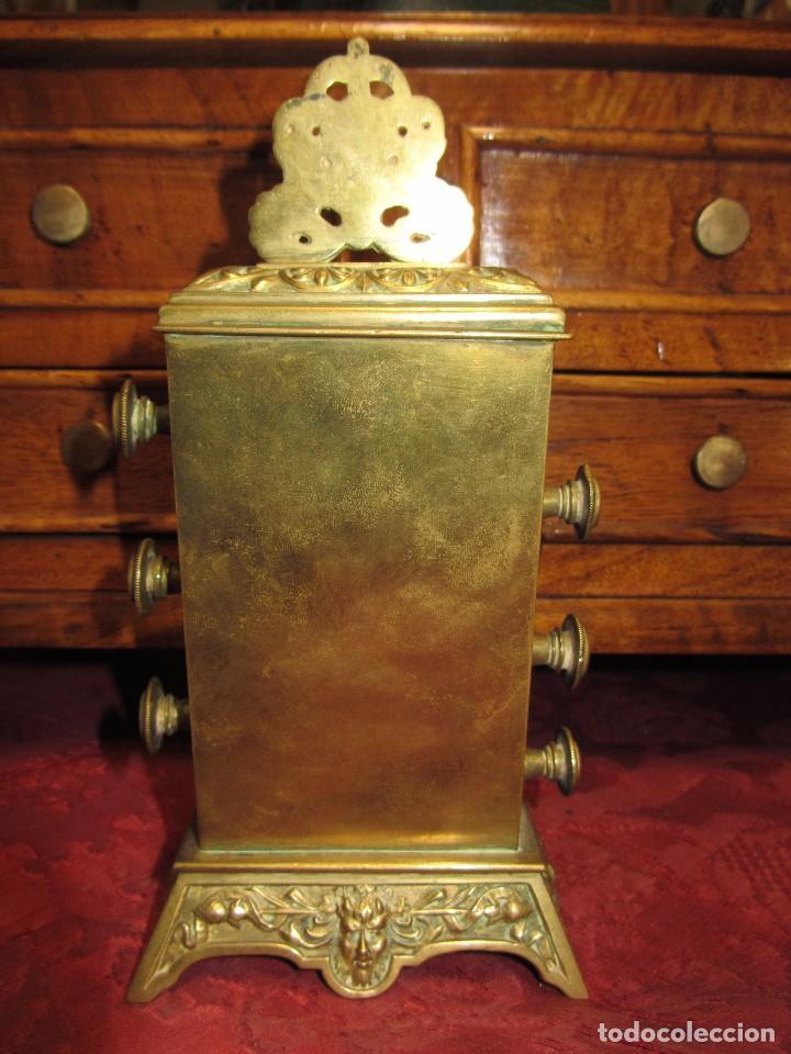 Relojes de carga manual: Antiguo Calendario Perpetuo de Sobremesa para Despacho - Foto 7 - 72042123