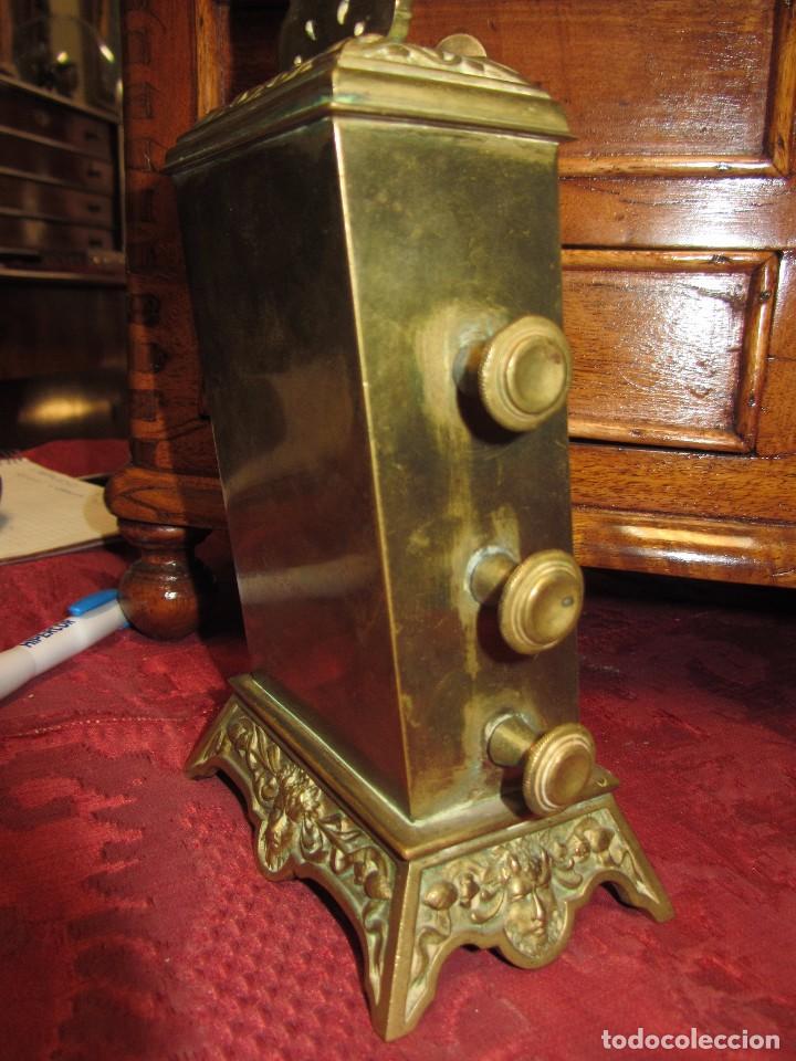Relojes de carga manual: Antiguo Calendario Perpetuo de Sobremesa para Despacho - Foto 9 - 72042123