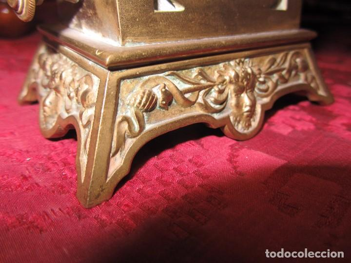 Relojes de carga manual: Antiguo Calendario Perpetuo de Sobremesa para Despacho - Foto 11 - 72042123