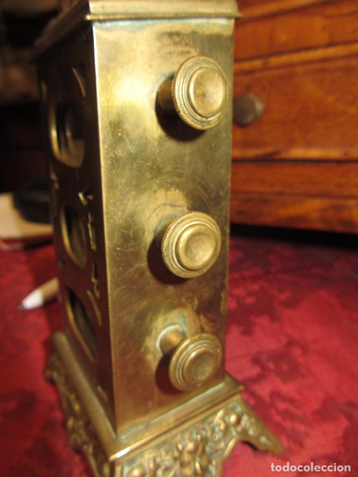 Relojes de carga manual: Antiguo Calendario Perpetuo de Sobremesa para Despacho - Foto 12 - 72042123