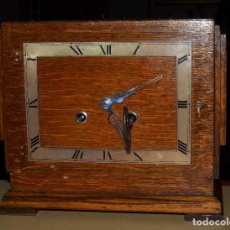 Relojes de carga manual: ANTIGUO RELOJ DE SOBREMESA DE CUERDA INGLÉS C.W.S. LTD PARA RESTAURAR. Lote 72050251