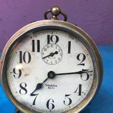 Relojes de carga manual: RELOJ DESPERTADOR DE SOBREMESA. MARCA WESTCLOX BIG BEN. MADE IN USA. AÑOS 60.. Lote 72073243