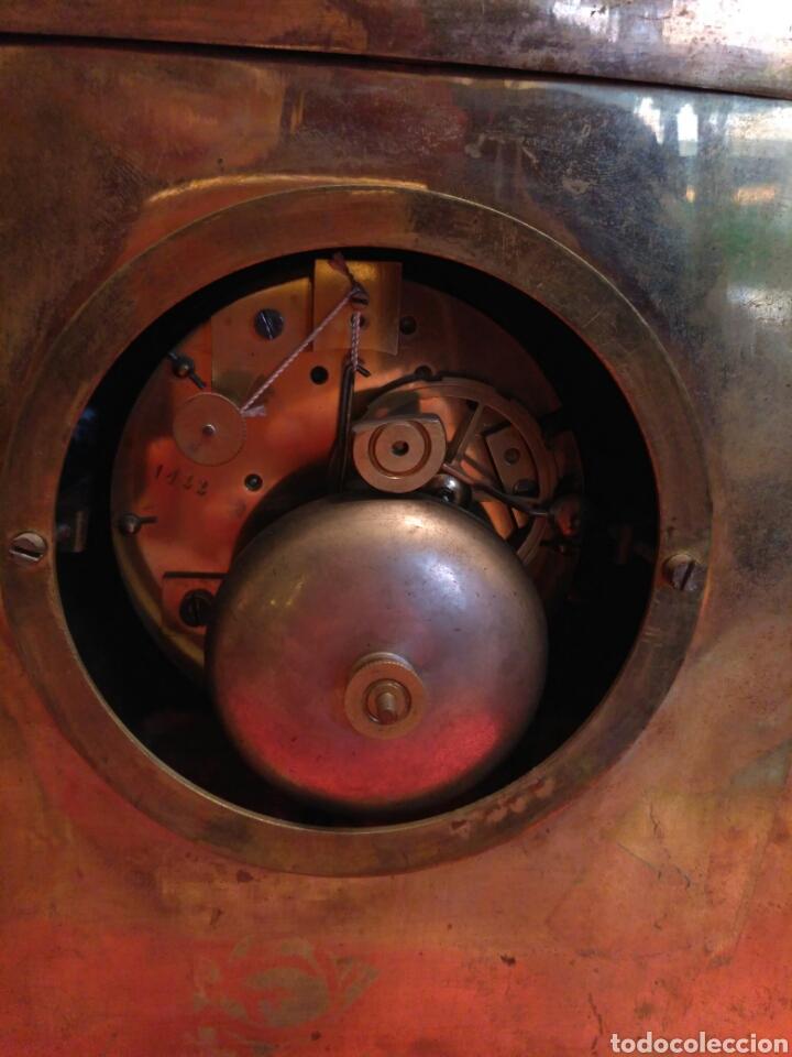 Relojes de carga manual: Reloj de sobremesa dorado del siglo XIX - Foto 7 - 72192047