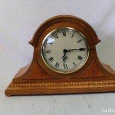 Relojes de carga manual: RELOJ QUARTZ DE CHIMENEA. Lote 76818490