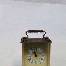 Relojes de carga manual: RELOJ CARRUAJE QUARTZ MARCA MAXIM. Lote 84782772