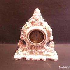 Relojes de carga manual: RELOJ DE LOZA. Lote 74117403