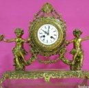 Relojes de carga manual: RELOJ AÑOS 80 BRONCE. Lote 75584394