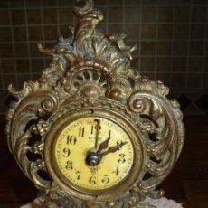Relojes de carga manual: RELOJ DE SOBREMESA-BRONCE - MARCA LENZKIRCH - 1888. Lote 77427037