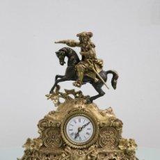 Relojes de carga manual: RELOJ DE BRONCE SEIGE DU VERDUN. ESTILO LUIS XIV. Lote 78531561