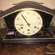 Relojes de carga manual: RELOJ DE CHIMENEA ANTIGUO. Lote 78859413