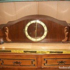 Relojes de carga manual: ANTIGUO RELOJ CARRILLON-MAUTHE-ALEMANIA-FUNCIONA. Lote 79141065