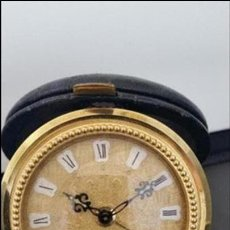 Relojes de carga manual: ANTIGUO RELOJ-DESPERTADOR DE VIAJE // MARCA JAZ. Lote 80330033