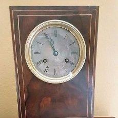 Relojes de carga manual: PRECIOSO RELOJ DE SOBREMESA FRÁNCES CON PÉNDULO DE HILO. 1800.. Lote 80758006
