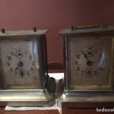 Relojes de carga manual: RELOJES DE CARRUAJE - JUNGHANS. Lote 81095974