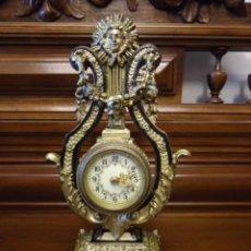 Relojes de carga manual: RELOJ SOBREMESA, ÉPOCA NAPOLEÓN III, MINIATURA, FUNCIONANDO. Lote 81195068