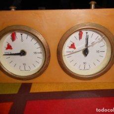 Relojes de carga manual: DOBLE CRONOMETRO DE AJEDREZ ,MADE IN GERMANY.. Lote 171638162
