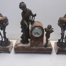 Relojes de carga manual: RELOJ DE SOBREMESA. Lote 82368262