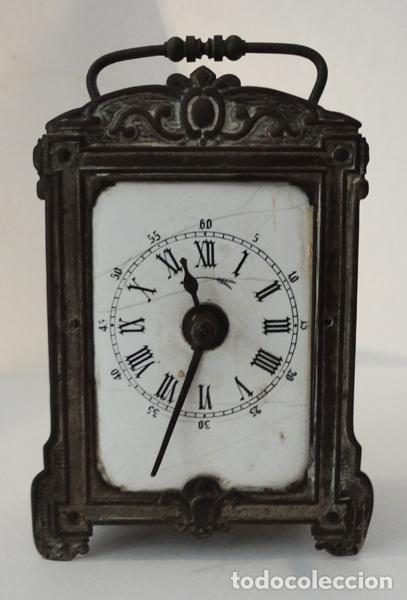 RELOJ DESPERTADOR DEL SIGLO XIX (Relojes - Sobremesa Carga Manual)