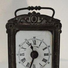 Relojes de carga manual: RELOJ DESPERTADOR DEL SIGLO XIX. Lote 82389306