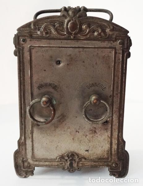 Relojes de carga manual: Reloj despertador del siglo XIX - Foto 2 - 82389306