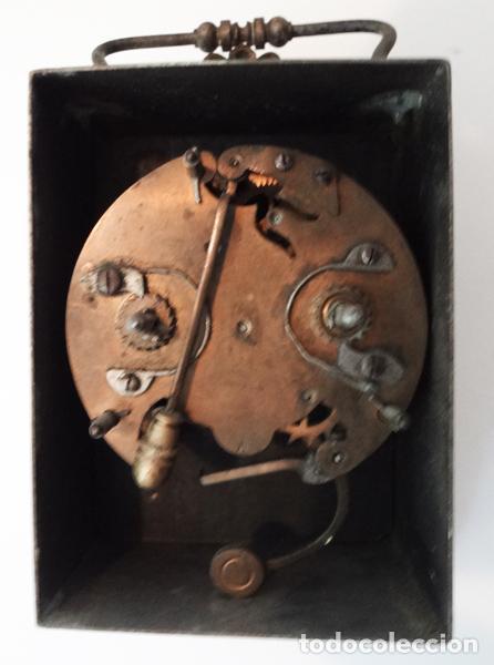 Relojes de carga manual: Reloj despertador del siglo XIX - Foto 3 - 82389306