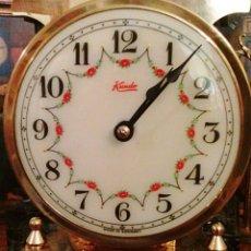 Relojes de carga manual: RELOJ KUNDO. DE SOBREMESA. DE 400 DIAS, O ANIVERSARIO. DE CARGA MANUAL Y PENDULO DE TORSION.. Lote 83262738