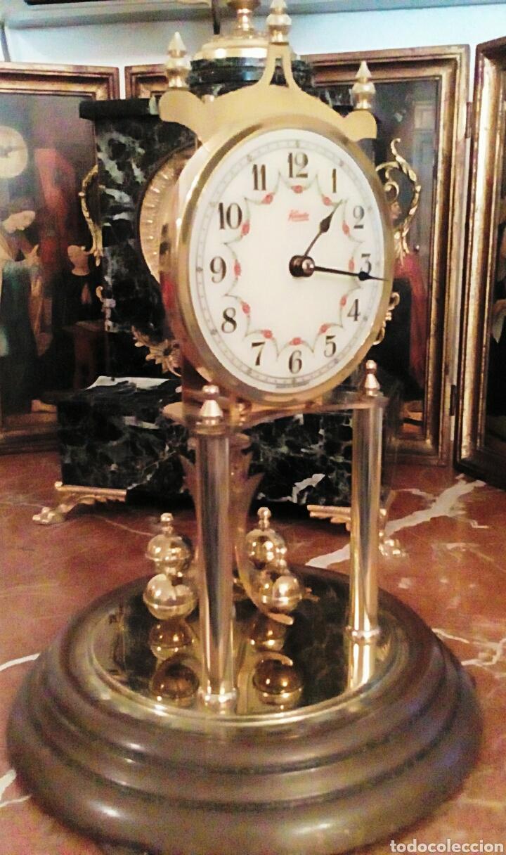 Relojes de carga manual: Reloj Kundo. De sobremesa. De 400 dias, o aniversario. De Carga manual y pendulo de torsion. - Foto 2 - 83262738