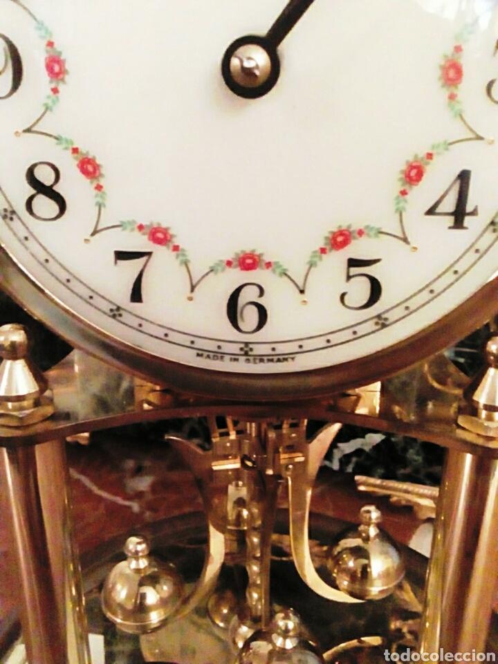 Relojes de carga manual: Reloj Kundo. De sobremesa. De 400 dias, o aniversario. De Carga manual y pendulo de torsion. - Foto 5 - 83262738