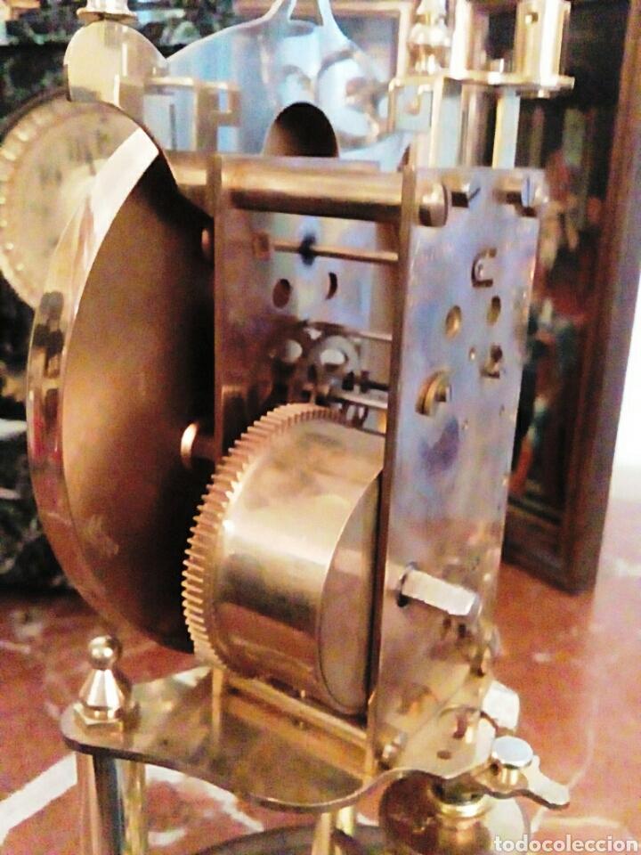 Relojes de carga manual: Reloj Kundo. De sobremesa. De 400 dias, o aniversario. De Carga manual y pendulo de torsion. - Foto 7 - 83262738