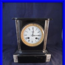 Relojes de carga manual: RELOJ MARMOL BELGA TIPO NOTARIO MAQUINA PARIS. Lote 84982796