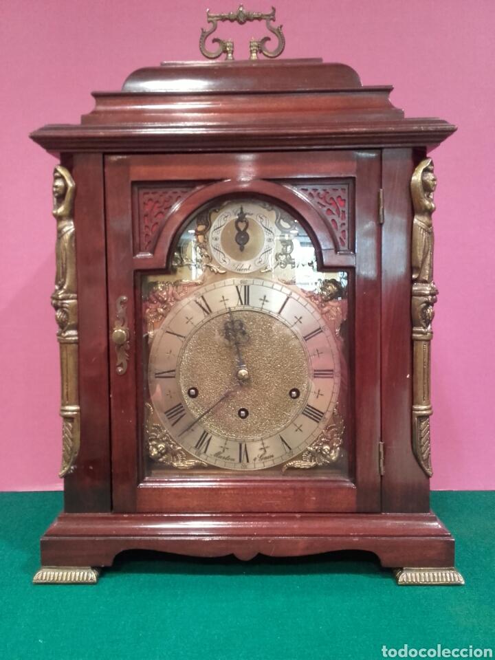 Gran reloj de sobremesa carrillon marton gain comprar - Relojes de sobremesa antiguos ...