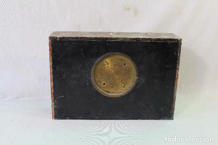 Relojes de carga manual: reloj art deco en marmol con maquinaria de cuerda - Foto 2 - 85269628