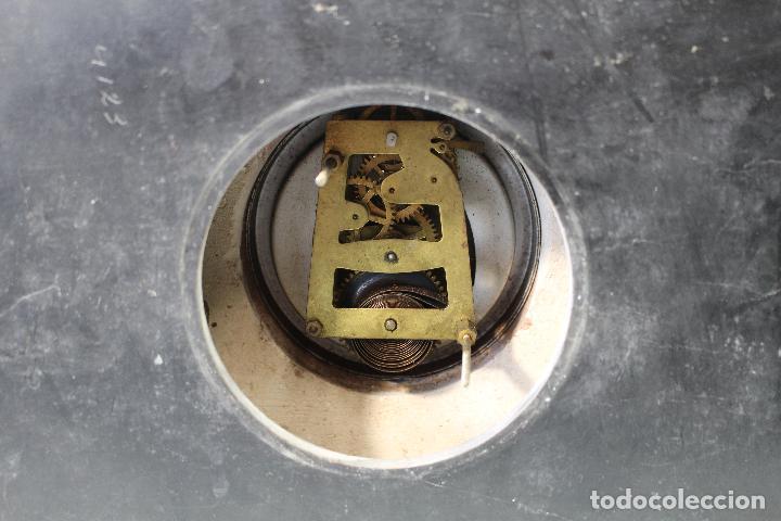 Relojes de carga manual: reloj art deco en marmol con maquinaria de cuerda - Foto 5 - 85269628