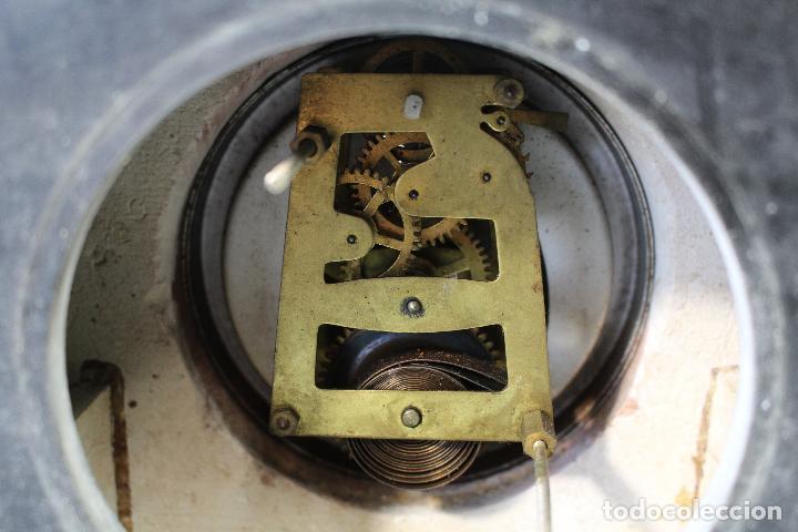 Relojes de carga manual: reloj art deco en marmol con maquinaria de cuerda - Foto 6 - 85269628