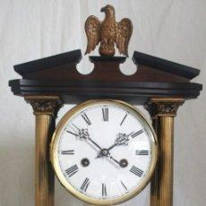 Relojes de carga manual: ANTIGUO RELOJ ALEMÁN DE CUERDAS FUNCIONANDO. Lote 86415736