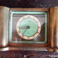 Relojes de carga manual: RELOJ ART DECO BRONCE. Lote 126274783