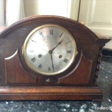 Relojes de carga manual: RELOJ INGLÉS CON MAGNÍFICO SONIDO, FUNCIONANDO. MEDIDAS ( 340 X 130 X 270 ) M/M. Lote 87067270