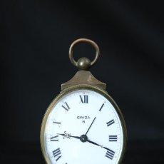 Relojes de carga manual: RELOJ SOBREMESA MARCA SWIZA, 8 DIAS DESPERTADOR. Lote 87291348