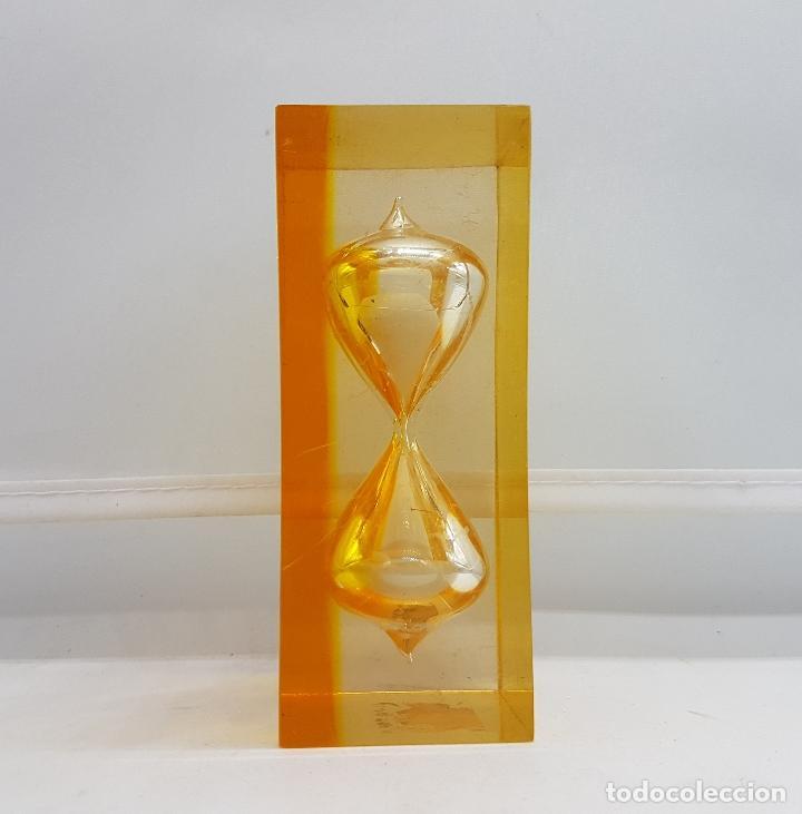 Reloj De Arena Antiguo De Metacrilato En Tonos Comprar Relojes