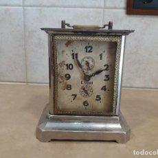 Relojes de carga manual: ANTIGUO RELOJ DE CARRUAJE CARLOS COPPEL. Lote 88960100