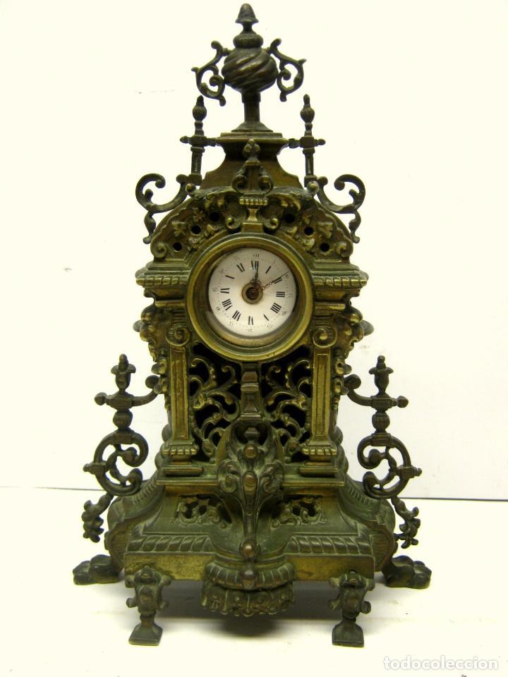 Siglo xix importante y antiguo reloj de sobre comprar - Relojes de sobremesa antiguos ...