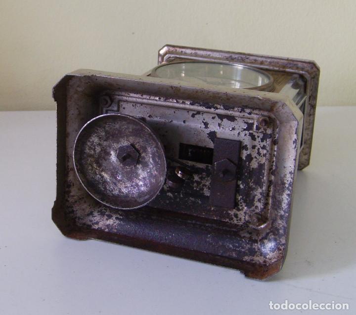 Relojes de carga manual: Reloj carruaje con sonería horas y medias y despertador - Foto 6 - 89494152