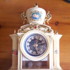 Relojes de carga manual: RELOJ VICTORIA SECRETITOS BG. MUSICAL A CUERDA. FUNCIONA. AÑOS 80. Lote 89968812