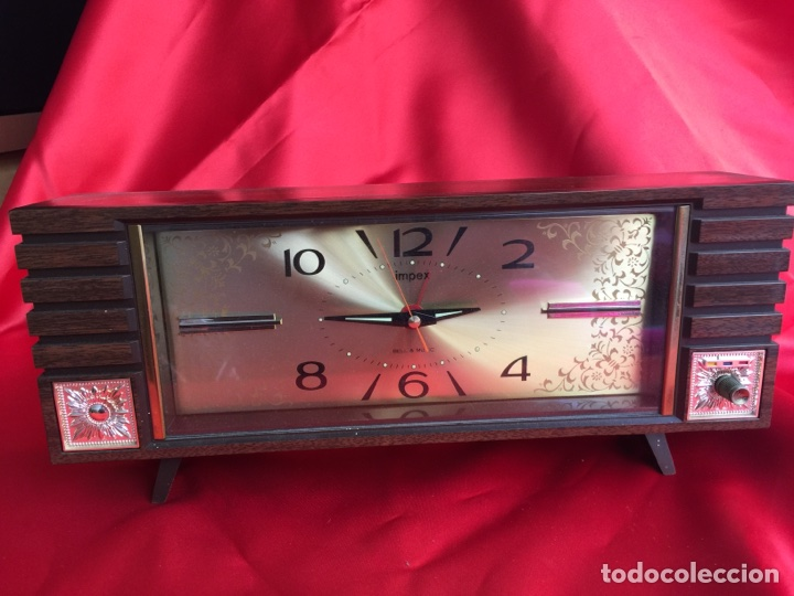 Alarma Reloj Y Melodía Impex Con Bonita 2E9DHIW