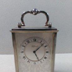 Relojes de carga manual: RELOJ HELVECO, CARGA MANUAL, SOBREMESA, SUIZO. Lote 90798065