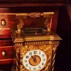 Relojes de carga manual: CARRIAGE CLOCK SIGLO XIX HACIA 1840 FIRMADA LA MAQUINA. Lote 90925340